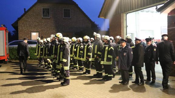 Feuerwehr Norderbrarup absolviert Roter Hahn Stufe 1
