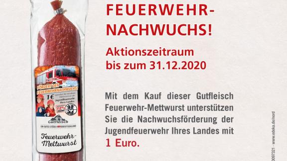 Start EDEKA Feuerwehr-Mettwurst 2020