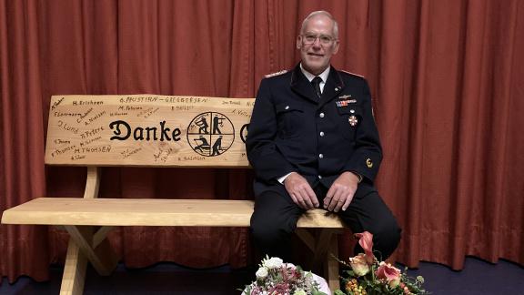Amtswehrführer Günter Lorenz geht in den Feuerwehrruhestand