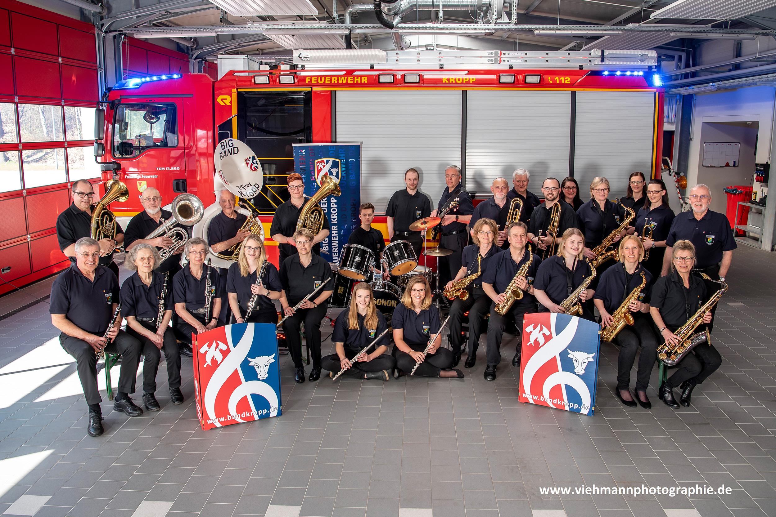 Big Band der FFw Kropp