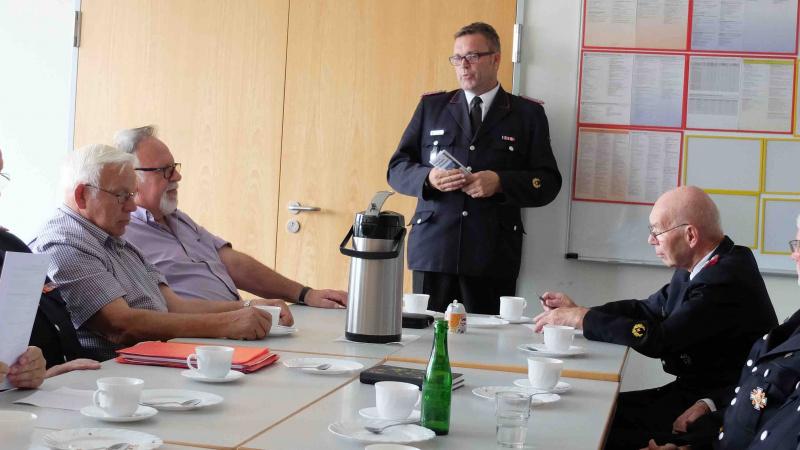 Ehemalige Wehrführer aus vier Kreisen trafen sich in Schleswig