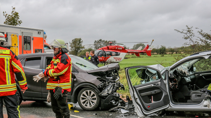 Zwei Tote bei schwerem Unfall