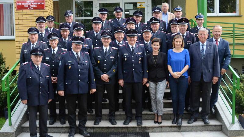 Kameradschaftsbund ehemaliger Wehrführer besuchte den Partnerkreis Pisz in Polen