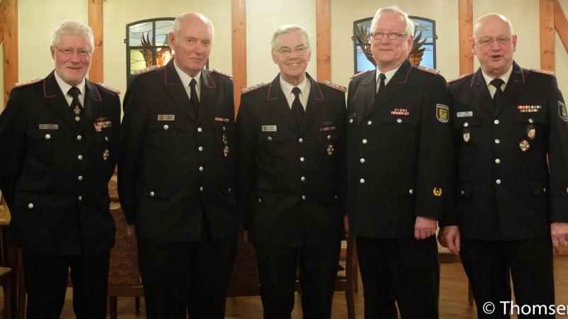 Viele Aktivitäten beim Kameradschaftsbund ehemaliger Wehrführer